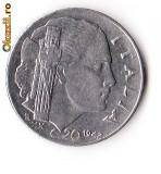 ITALIA 20 CENTS 1942
