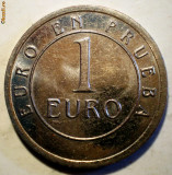 F.491 SPANIA MONETARIA MADRID 1 EURO PROBA 25mm, Europa