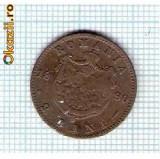 25 Moneda  2 Bani 1880 B -starea care se vede -ceva mai buna decat scanarea