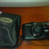 vand aparat foto cu film canon prima twin s . caracteristici ; canon lens 38/70mm 1:3.5/6.0 ; self timer , blitz automat;  zoom ; stare foarte buna .