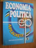 ECONOMIE POLITICA * APLICATII -- Nita Drobota   - 1997,   333  p.