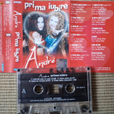 Andre prima iubire caseta audio muzica pop dance europop cat music 2000, Casete audio