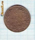 38 Moneda  2 Bani 1867 HEATON -starea care se vede -ceva mai buna decat scanarea