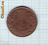47 Moneda  2 BANI 1867 WATT & Co -starea care se vede -ceva mai buna decat scanarea