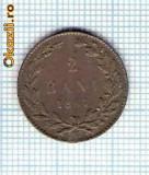 45 Moneda  2 BANI 1867 WATT & Co -starea care se vede -ceva mai buna decat scanarea