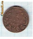 39 Moneda  2 Bani 1867 HEATON -starea care se vede -ceva mai buna decat scanarea -scuzati firul de scama interpus la scanare