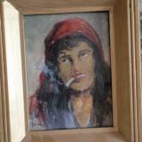 TABLOU- TIGANCA - Pictor roman, Portrete, Impresionism