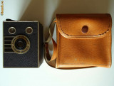 Aparat foto de colectie KODAK SIX-20 Portrait Brownie 1936/1940 in etui