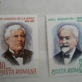 1968 LP 676-7 100 de ani de la Racovita si Ion Ionescu, Nestampilat