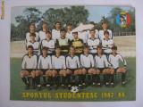FOTO MARE SPORTUL STUDENTESC 1987-1988