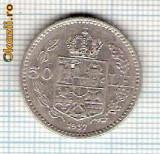 60 Moneda  50 LEI 1937 -starea care se vede -ceva mai buna decat scanarea