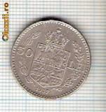 61 Moneda  50 LEI 1937 -starea care se vede -ceva mai buna decat scanarea