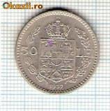 57 Moneda  50 LEI 1937 -starea care se vede -ceva mai buna decat scanarea