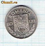 75 Moneda 10 LEI 1996 -GAMES ATTLANTA U.S.A.-XXVI OLYMPIAD(CAIAC-CANOE) -starea care se vede -ceva mai buna decat scanarea