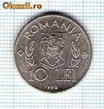 70 Moneda  10 LEI 1995 FAO -starea care se vede -ceva mai buna decat scanarea