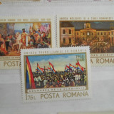 1968 LP 687 Semicentenarul Unirii Transilvaniei cu Romania - Timbre Romania, Nestampilat