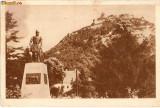 R-613 Romania, Cetatea Deva, statuia Decebal, marca fixa, circulata