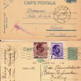 ansamblu 2 DE LA ORASTIE LA GHIOROC CENZURAT  1941,SI DE LA SATU MARE LA BERNA 1936-OCPP 99