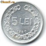 5 LEI 1950 STARE APROAPE NECIRCULATA - Moneda Romania