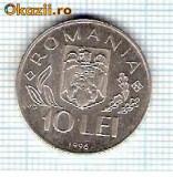76 Moneda 10 LEI 1996 -WORLD FOOD SUMMIT -starea care se vede -ceva mai buna decat scanarea