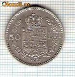 58 Moneda  50 LEI 1937 -starea care se vede -ceva mai buna decat scanarea