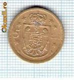 93 Moneda  5 LEI 1930 -starea care se vede -ceva mai buna decat scanarea