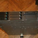 Server rackabil Intel 2U sasiu SR2200 placa de baza SCB2 Dual Pentium III