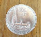 Bisericesti; Medalie 600 ani (1382-1982) Manastirea Czestochowa din Jasna Gora, revers:  Jan Pavewel II,  Pont. Max.