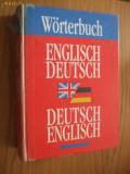 WORTERBUCH  ** ENGLISCH-DEUTSCH ** DEUTSCH-ENGLISCH --    1995 ,   800 p.