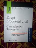 Drept procesual civil/curs selectic/teste grila-Viorel Ciobanu/Gabriel Boroi