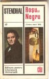 (C1236) ROSU SI NEGRU DE STENDHAL,  ELU, BUCURESTI, 1968, TRADUCERE DE GELU NAUM