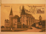 CASTELUL HUNIAZILOR - INCEPUT DE 1900 - ILUSTRATA MAXIMA SUPORT VECHI