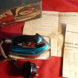 Fier de Calcat pt. voiaj -Firma KHEMZ - 1966, Inox