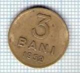 157 Moneda 3 BANI 1952 -starea care se vede -ceva mai buna decat scanarea