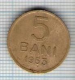 137 Moneda 5 BANI 1953 -starea care se vede -ceva mai buna decat scanarea