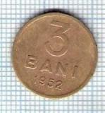 129 Moneda  3 BANI 1952 -starea care se vede -ceva mai buna decat scanarea