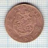 123 Moneda  2 BANI 1880 B -starea care se vede -ceva mai buna decat scanarea