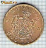 166 Moneda 500 LEI 1945 -starea care se vede -ceva mai buna decat scanarea