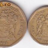 Moneda Africa de Sud 10 si 20 Centi 1993 - KM#135 si 136 VF (pretul este pentru cele doua monede)