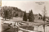 R-10143 Romania, RPR, Poiana Stalin, Podul si Lacul Poiana, necirculata