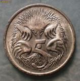 7.172 AUSTRALIA 5 CENTS 1981 EROARE