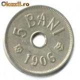 5 BANI 1906 LITERA J STARE FOARTE FOARTE BUNA