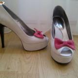 PANTOFI CU PLATFORMA - Pantof dama, Marime: 36