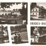CPI (B724) ORADEA, BAILE 1 MAI, EDITURA CPCS, CIRCULATA 1959, STAMPILE - Carte Postala Crisana dupa 1918, Fotografie