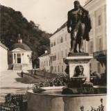 CPI (B733) BAILE HERCULANE, VEDERE GENERALA, EDITURA CPCS, CIRCULATA, 1957, STAMPILE, TIMBRU, Fotografie
