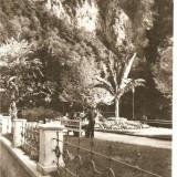 CPI (B736) BAILE HERCULANE, VEDERE DIN PARC, EDITURA MERIDIANE, CPCS, CIRCULATA, 1968, STAMPILE, TIMBRU, Fotografie