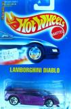 HOT WHEELS--LAMBORGHINI DIABLO ++1799 DE LICITATII !!, 1:64, Hot Wheels