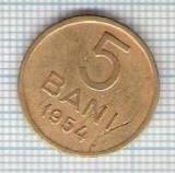 253 Moneda 5 BANI 1954 -starea care se vede -ceva mai buna decat scanarea