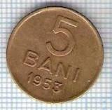 271 Moneda 5 BANI 1953 -starea care se vede -ceva mai buna decat scanarea