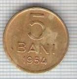 255 Moneda 5 BANI 1954 -starea care se vede -ceva mai buna decat scanarea